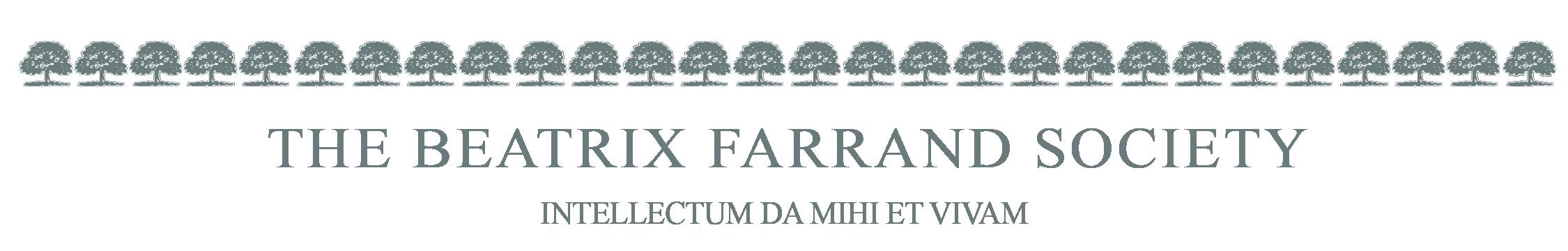 Beatrix Farrand Society